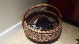 Basket for Purse Overflow
